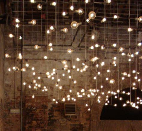 christmas lights with brown cord