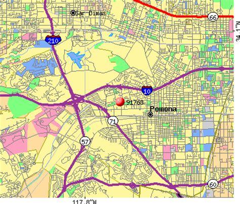 california map pomona 91768 zip code pomona california profile homes