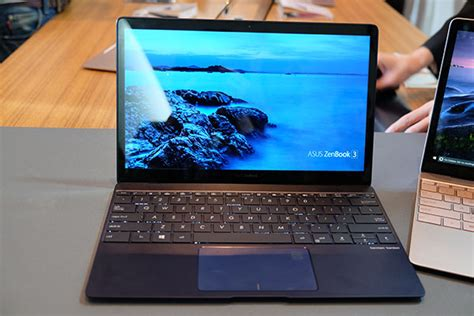 Laptop Asus Singapore Prices the asus zenbook 3 looks just like a slimmer and lighter apple macbook hardwarezone sg