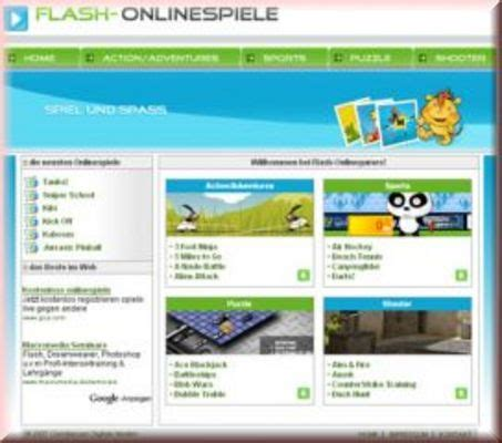 adsense zahlung flash games