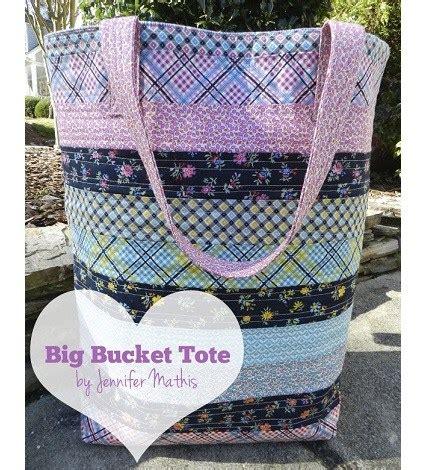 Bigs Bucket Giveaway - tutorial big bucket tote sewing