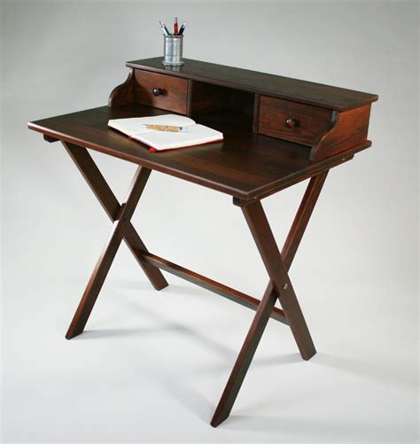 Portable Desk by Portable Solid Wood Caign Desk By Manchester Wood