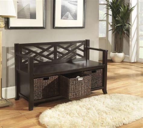 simpli home adrien entryway bench simpli home adrien entryway storage bench espresso brown