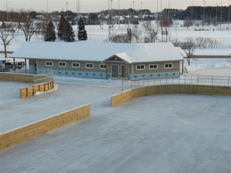 backyard skating rink construction outdoor rinks acc