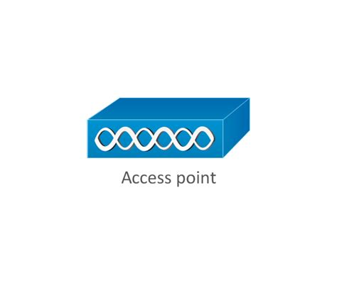 wireless access point visio stencil conceptdraw arrows10 technology cisco network topology
