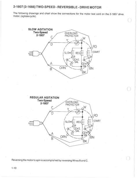 kenmore washing machine motor wiring diagram kenmore