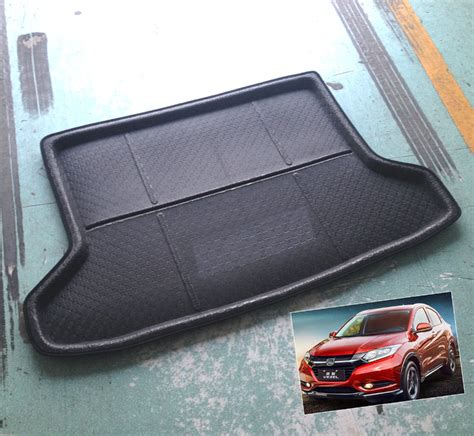 Karpet Set Karet Honda Hr V fit for 14 honda hr v vezel hrv boot mat rear trunk liner