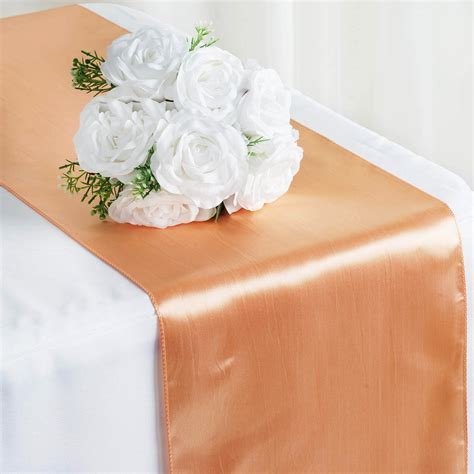 Revow Wedding by 30 Pcs Satin 12x108 Quot Table Runners Wholesale Wedding