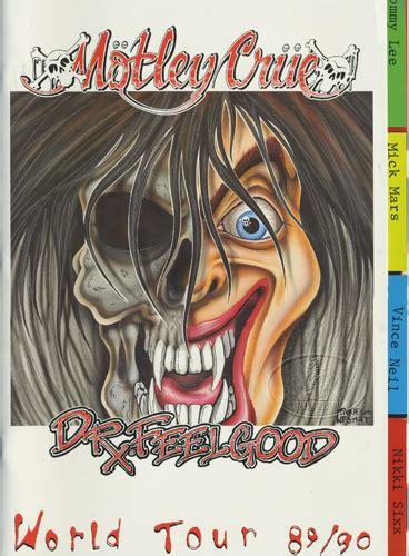 dr tour motley crue 1989 90 dr feelgood tour concert program