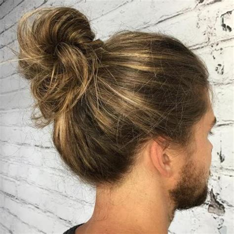 guy with french braids shaved side 20 man bun styles for not your next door guy