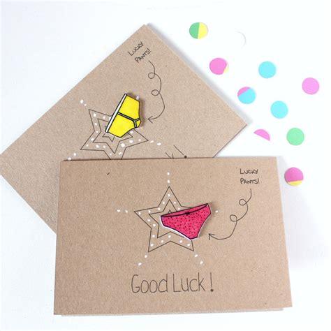 Handmade Luck Cards - handmade luck card luck card luck luck card