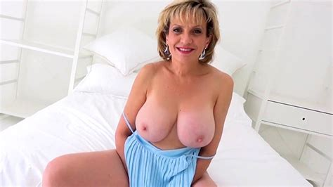 Sexy Brit Mature Dame Sonia Plays With Her Rock Hard