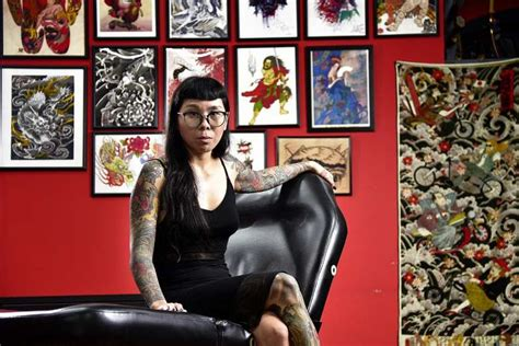 imaginetattooing com 187 singapore tattoo convention 21st singaporean female tattoo artists spill on the wild