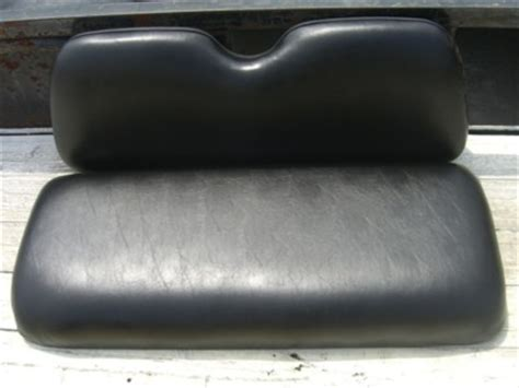 yamaha g1 golf cart seats yamaha golf cart g1 front bench seat cushions black