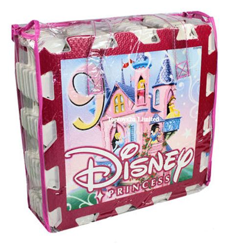 Disney Princess Hopscotch Mat - disney princess interlocking 9pc soft foam hopscotch play