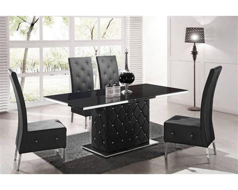 table salle a manger noir table de salle a manger design table ronde cuisine