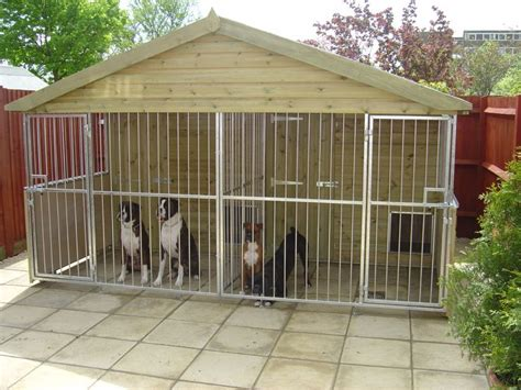 Triplex Home Plans by Large Dog Kennels Plastic Lumber Resources