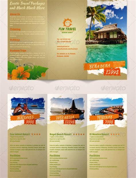 layout majalah pariwisata 25 contoh desain brosur tour travel terbaik inspiratif idea