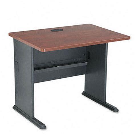36 inch computer desk bush advantage hansen 36 inch cherry computer desk