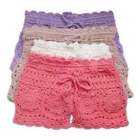 short crochet patrones patrones de short tejidos a crochet imagui vestidos