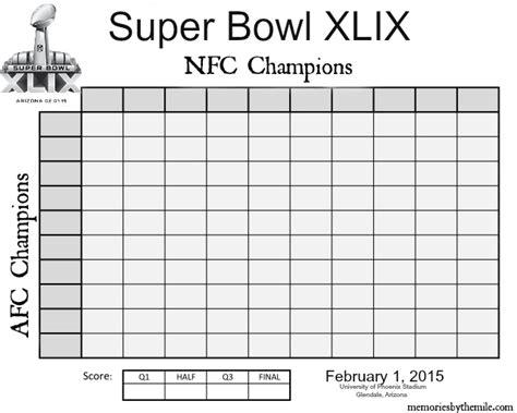 super bowl pool new calendar template site