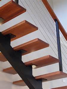 Steel Stairs With Wood Treads by Arc21
