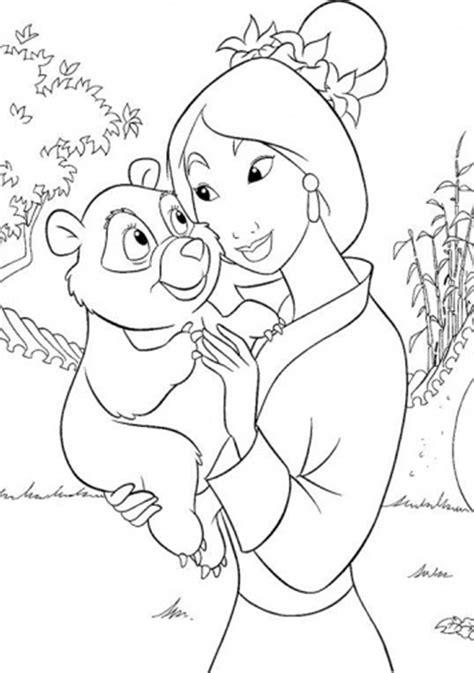 Mulan Coloring Pages Disney Mulan Coloring Pages Kids Disney Mulan Coloring Pages