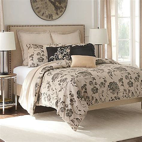 bed bath and beyond flatiron flatiron vivian duvet cover set in linen bed bath beyond