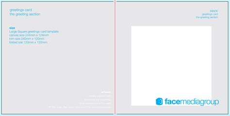 Template Card For by Free Blank Greetings Card Artwork Templates For