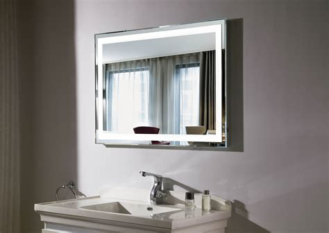 lighted mirrors for bathroom budapest iii lighted vanity mirror led bathroom mirror