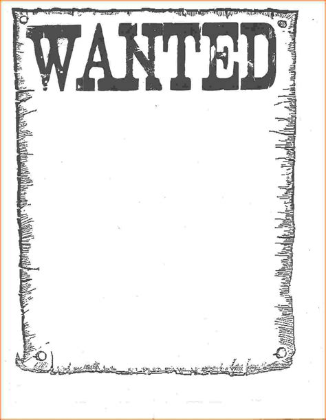 poster templates free blank wanted poster www pixshark images galleries