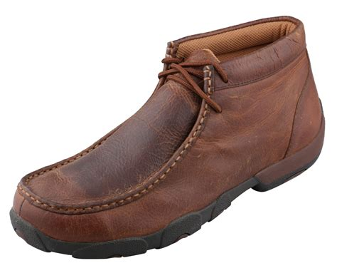 s twisted x shoes copper driving moc wood s boots