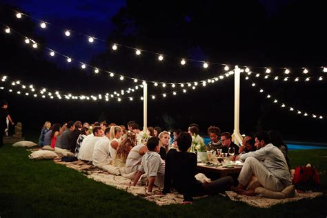 backyard night outdoor night party ideas www pixshark com images