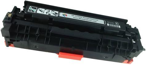 Toner Hp 304a Cc530a Black hp cc530a 304a black toner cartridge remanufactured