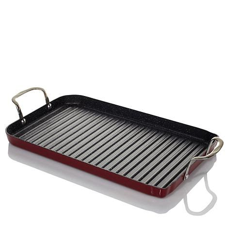 Teflon Grill Pan curtis durapan nonstick burner grill pan with