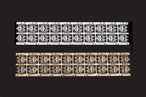 lead frame design rule semiconductor lead frame frame design reviews