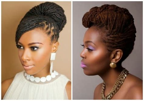 Wedding Hairstyles With Dreadlocks by 7 Pretty Hairstyles For Black Brides