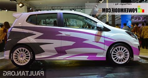 gambar mobil toyota agya kumpulan modifikasi mobil agya warna putih 2017