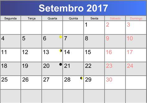 Calendario Setembro 2017 Calend 225 Setembro 2017 Printable Pdf Abc Calendario Pt