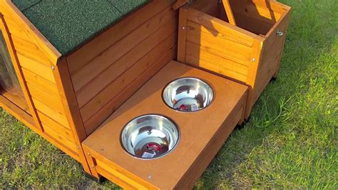 watch dog house large dog kennel buster large dog house youtube