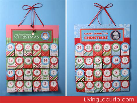 printable homemade advent calendar 5 homemade holiday diy gift ideas