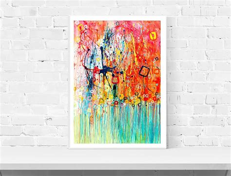 printable poster art jellyfish wall art print louise mead