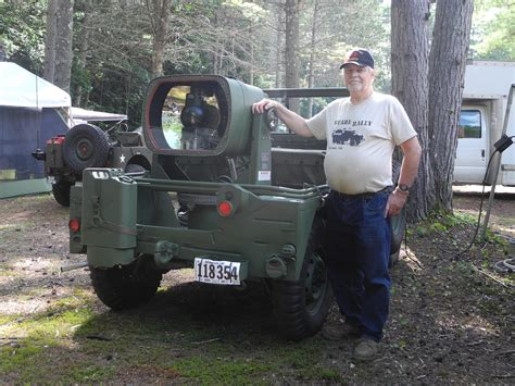 Suchscheinwerfer Auto by Merrimac Valley Military Vehicle Collectors Rally July