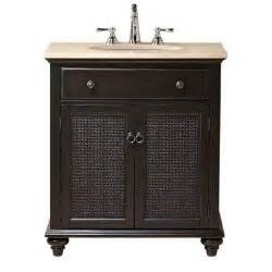 Home Depot 30 Vanity With Top Home Decorators Collection Ansley 30 In W Single Bath