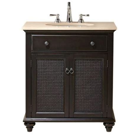 bathroom vanity tops home depot home decorators collection ansley 30 in w single bath