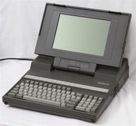 toshiba t3200 plasma display portable computer 70s 80s 90s electronics