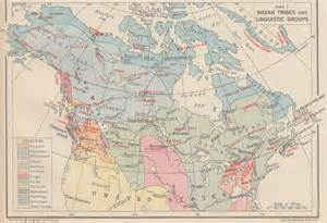 map of the tribes of canada pictures to pin on