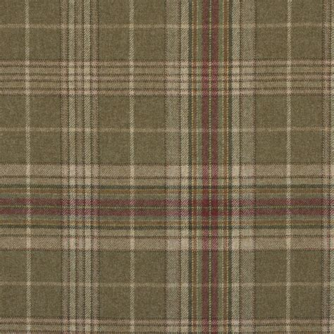 Ralph Lauren Fabric Hardwick Plaid Woodland Lfy60540f
