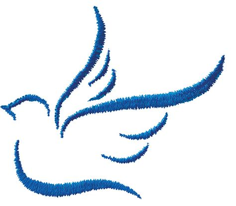 abstract dove embroidery design annthegran