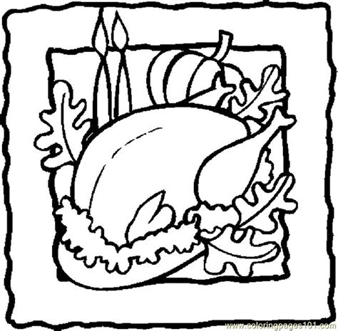 cooked turkey coloring page free free coloring pages of cooked turkey